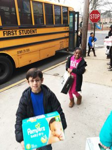Third Graders Making a Difference: Giving of ourselves to the Bergen Family Center and St. Joseph's School for the Blind