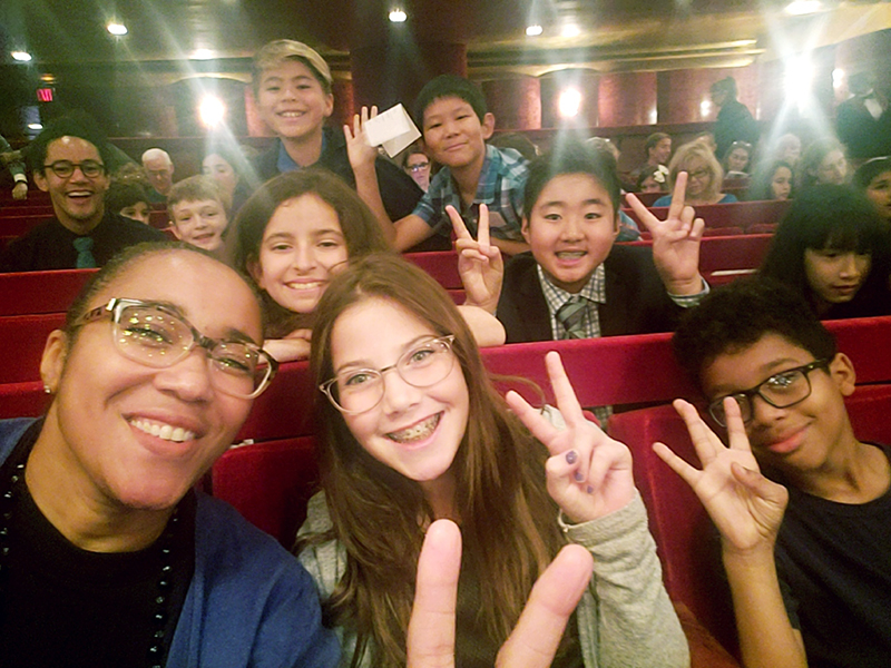 5th Grade Opera Company visits the Metropolitan Opera House: Submitted by Mary Heveran