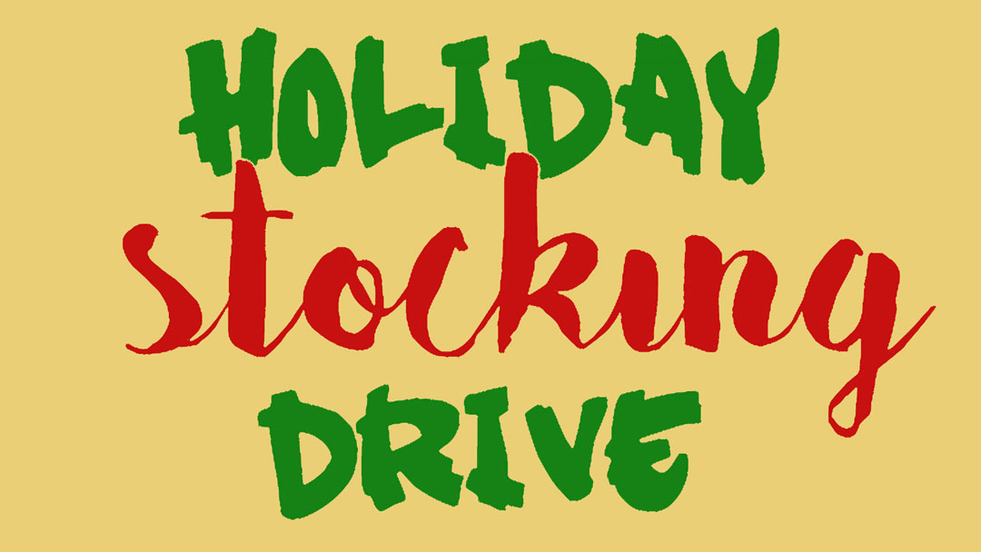 For His Children Holiday Stocking Drive