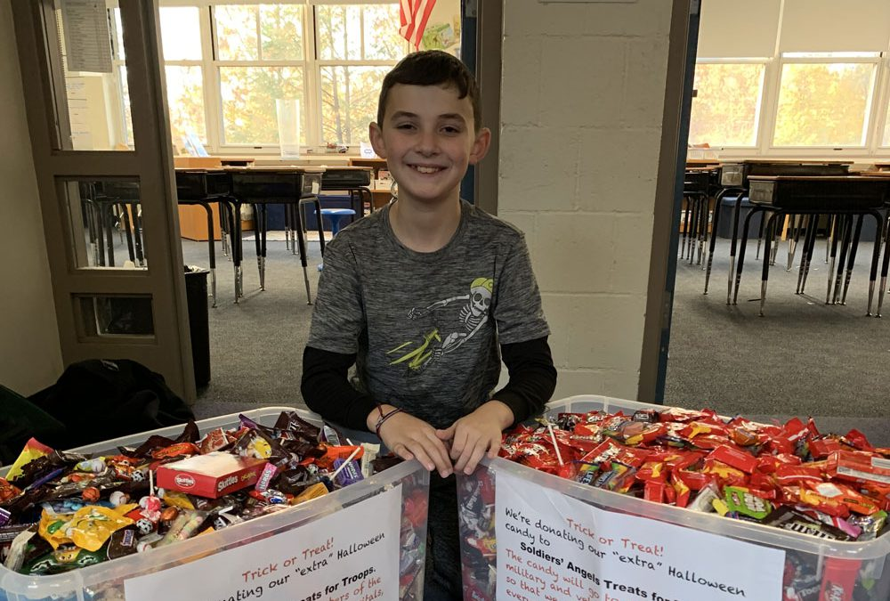 Doing Good: Trick-or-Treat Candy Drive