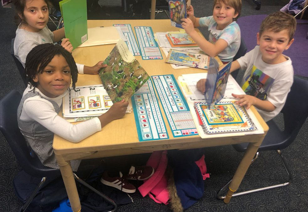 All About our Expert First Grade Readers and Writers